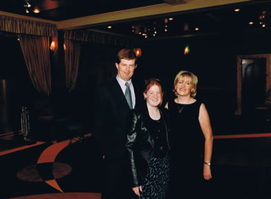 Donal, Mairead & Rose Younge